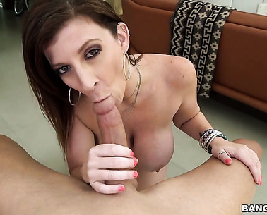 Sara Jay Is Sucking A Dick
