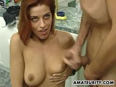 Amateur Teen Gets Her Pussy Crammed With Hard Cock