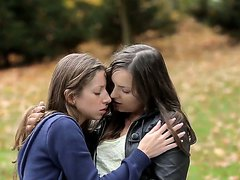 Lesbian Girls In Hot, Sensitive, Beautiful Love