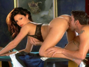Kelly Brook Gets On The Filthy Side Of Modeling